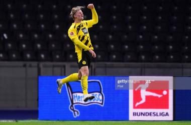 Hertha Berlin 2-5 Borussia Dortmund: Five-star Dortmund score big