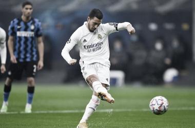"""Hazard: """"Son tres puntos importantes, ahora faltan dos partidos más"""""""