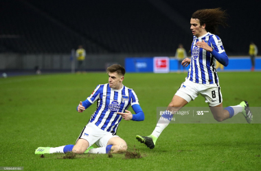 Hertha Berlin 3-1 Union Berlin: Hertha come from behind in the derby