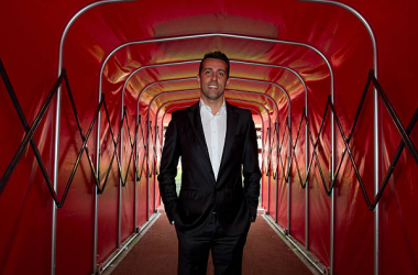 LONDON, ENGLAND - OCTOBER 10: Edu a former Arsenal player and now sporting director of Brazil side Corinthians poses during a visit to Emirates Stadium on October 10, 2011 in London, England. (Photo by David Price/Arsenal FC via Getty Images)