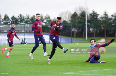 Manchester City prepare for Cheltenham in the Fourth Round of the FA Cup | Matt McNulty - Manchester City/Getty Images
