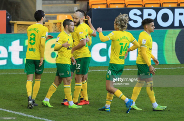 Norwich City 2-0 Cardiff City: Canaries dominate to widen lead at the top of the table