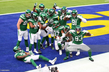 New York Jets shock Los Angeles Rams for first win of the season