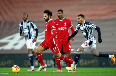 Liverpool 1-1 West Bromwich Albion: Ajayi snatches point for Baggies