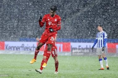 Hertha Berlin 0-1 Bayern Munich: Bayern punish misfiring Hertha