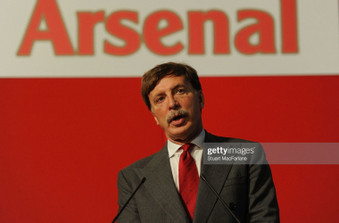 LONDON, ENGLAND - OCTOBER 27: Arsenal director Stan Kroenke during the Arsenal AGM at Emirates Stadium on October 27, 2011 in London, England. (Photo by Stuart MacFarlane/Arsenal FC via Getty Images)