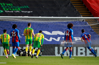 As it happened: Crystal Palace edge victory, condemning West Brom to a likely Championship return