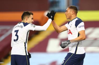 Aston Villa 0-2 Tottenham Hotspur: Vinicius and Kane maintain European hopes for Spurs