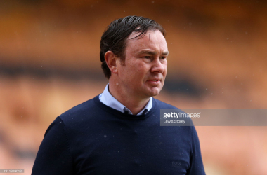 <div>Derek Adams will be hoping his side can boost their play-off hopes with a win against Scunthorpe tomorrow evening - IMAGE by Lewis Storey (Getty Images)</div><div><br></div>