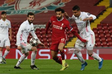 Liverpool v Real Madrid (1-3 aggregate): Live
