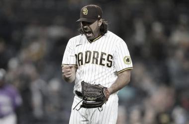 Nabil Crismatt obtuvo su segundo triunfo en la MLB Foto: Getty Images
