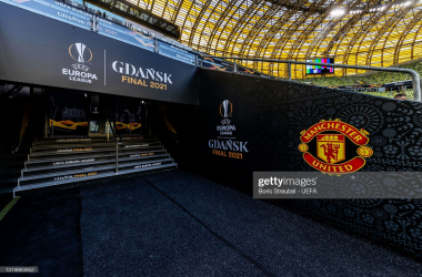 <div>GDANSK, POLAND - MAY 24: A general view at Gdansk Arena ahead of the UEFA Europa League Final between Villarreal CF and Manchester United at Gdansk Arena on May 24, 2021 in Gdansk, Poland. (Photo by Boris Streubel - UEFA/UEFA via Getty Images)</div><div><br></div>