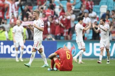 Dinamarca arrolla a Gales (0-4)