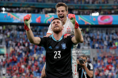 EURO 2020: 'Angel hands' to the rescue as Spain book semi-final place
