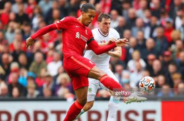 Burnley test helps Van Dijk get back up to speed