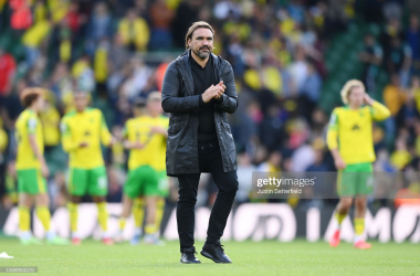Norwich City boss addressed the media on Friday afternoon. Getty images- Justin Setterfield