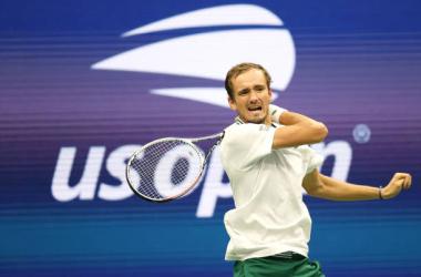 US Open: Daniil Medvedev dominates Dominik Koepfer