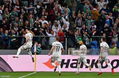 <div>WARSAW, POLAND - SEPTEMBER 30: Mahir Emreli of Legia Warsaw celebrates after scoring their sides first goal during the UEFA Europa League group C match between Legia Warszawa and Leicester City at Wojska Polskiego Stadium on September 30, 2021 in Warsaw, Poland. (Photo by Adam Nurkiewicz/Getty Images)</div>