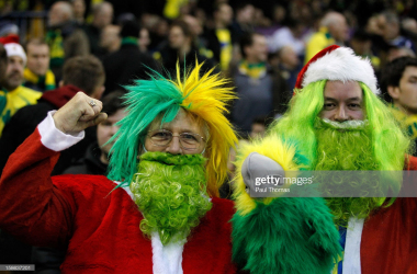 Will it be a joyous start to the festive period for Norwich? (Photo: Getty Images)