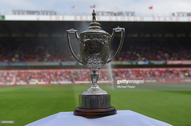 The Brian Clough Trophy is on the line (photo: Getty Images)