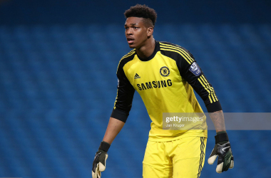 "<a href=""https://media.gettyimages.com/photos/jamal-blackman-goalkeeper-of-chelsea-in-action-during-the-barclays-picture-id488427439?s=2048x2048"">(</a>Photo: Getty Images - Jan Kruger)"
