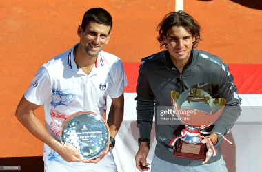Nadal last won the title over Djokovic in 2012 (Eddy LeMaistre/Getty Images)