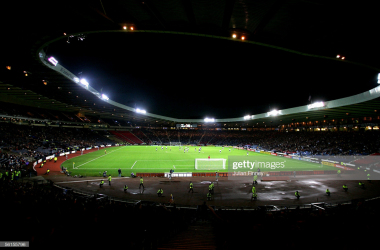 A lot of empty seats are expected at Hampden Park(Photo by Julian Finney/Getty Images)