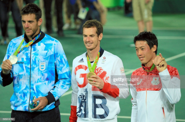 Murray and del Potro will have played in the last ever best-of-five set Olympic final (The Asahi Shimbun/Getty Images)