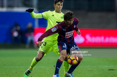 Takashi Inui is back with Eibar (Getty Images/Juan Manuel Serrano Arce)