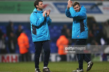 Portsmouth appoint Danny and Nicky Cowley