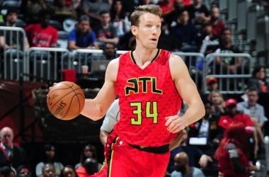 Mike Dunleavy anotó 20 puntos en el triunfo de los Hawks. Foto: NBA
