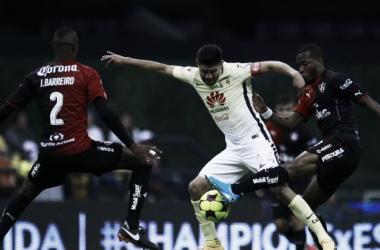 Atlas ha dominado al América en el Azteca en los últimos duelos (Foto: es.onefootball.com)