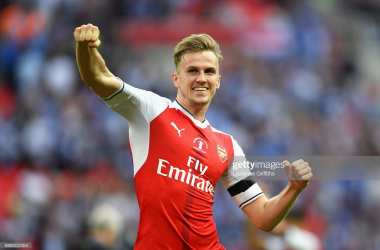 Rob Holding returns after eight months on the sidelines | (Photo by Laurence Griffiths/Getty Images)