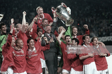 El Manchester United logró la Champions League de 1999 | Fuente: gettyimages