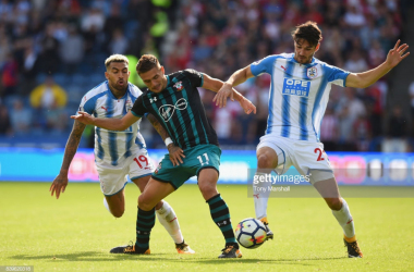 Huddersfield Town take on Southampton at the John Smith's Stadium on Saturday afternoon. (picture: Getty Images / Tony Marshall)