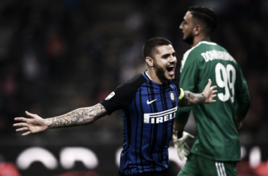Icardi, man of the match del derby   Twitter @Inter