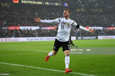 Timo Werner's former coach's words on the German's versatility upfront