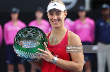 Angelique Kerber leads another strong field into the Sydney International/Photo: Mark Metcalfe/Getty Images
