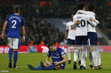 Spurs celebrate. (Photo: Getty Images/Ian Kington)