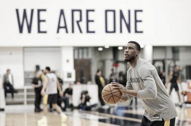 Young en entrenamiento | Foto: NBA.com
