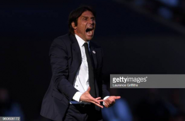 Conte will be hoping to be celebrating a lot in his new job this season (Photo: Getty Images/Laurence Griffiths)