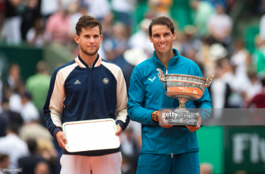 Nadal and Thiem met in last year's final and could meet again this year (Tim Clayton/Corbis/Getty Images)