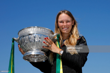 Caroline Wozniacki won Eastbourne for the second time last year (Getty Images/Charlie Crowhurst)