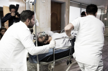 Alan Ruschel, el primer pasajero rescatado, llegó al hospital consciente y preguntando por su familia y compañeros. Foto: Infobae