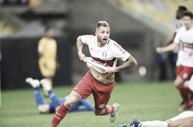 Nico López marcou dois dos três gols do Internacional (Foto: Divulgação/Internacional)
