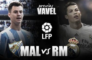 Málaga - Real Madrid: último tren a la Liga