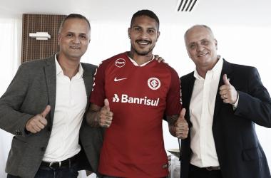 Internacional fecha contratação de Guerrero por três temporadas