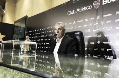 """Alfaro: """"Es imposible compararse con Bianchi"""""""
