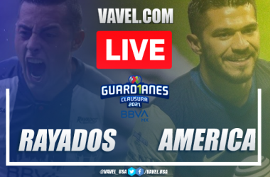 Goals and Highlights of Monterrey 1-0 América on Liga MX 2021