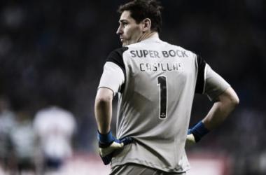 Iker con la camiseta del FC Porto // Foto: AFP